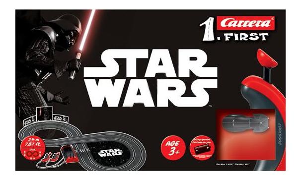 Купить Автотрек Carrera Star Wars, Детские автотреки