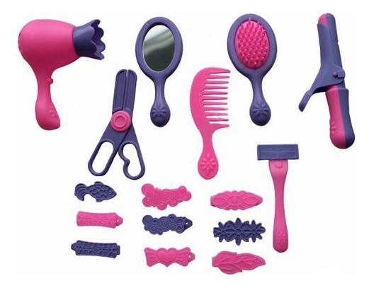 Купить Набор парикмахера игрушечный Совтехстром Парикмахер (16 Предметов), Детские наборы парикмахера