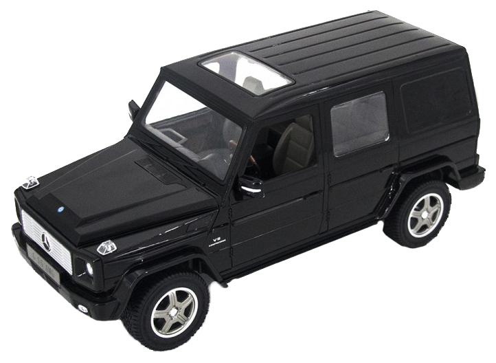 Радиоуправляемая машинка Rastar Mercedes G55 AMG черная 30400