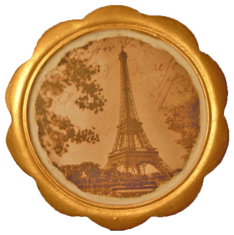 Купить Винтажный декупаж Фантазер Сердце Парижа, Рукоделие
