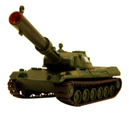 Машина военная Форма Танк с пневмопушкой 28 см