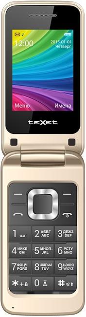 Мобильный телефон teXet TM 204 Beige