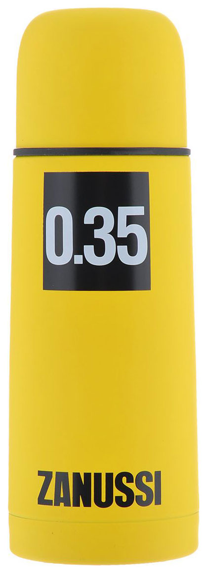 Термос Zanussi Cervinia 0,35 л желтый
