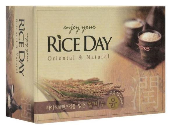 Косметическое мыл Cj Lion Riceday с рисовых отрубей, 100 г фото