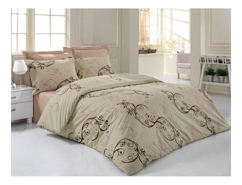 Комплект постельного белья Tete-a-tete premium sateen семейный Т-0041-01 фото