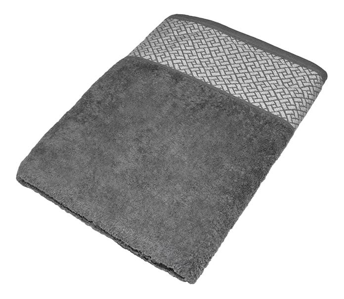Банное полотенце Aisha серый
