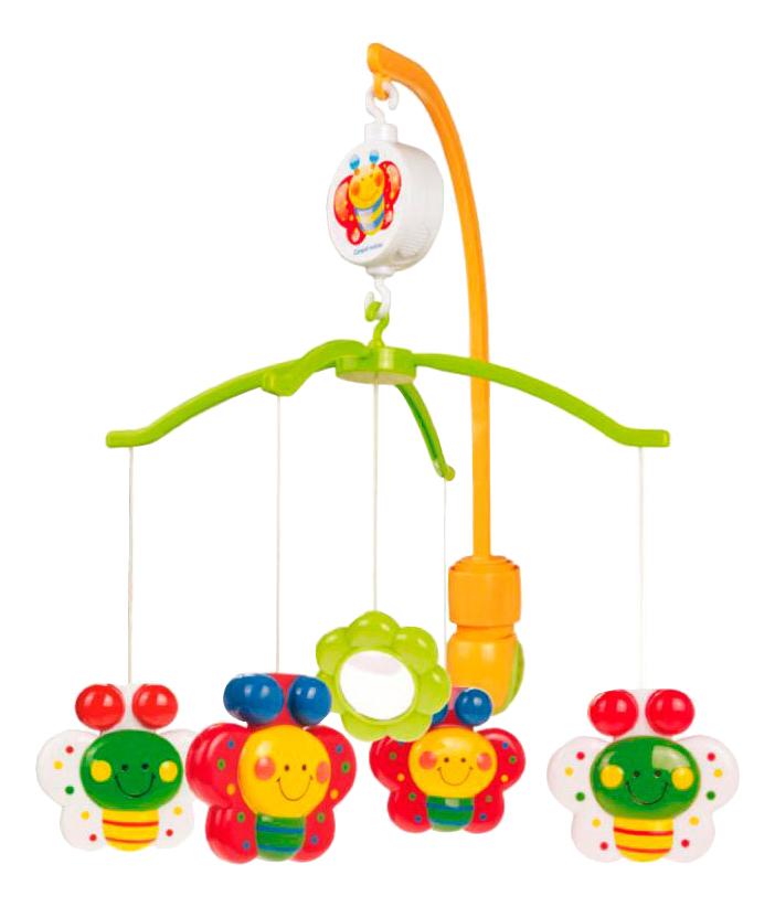 Купить Мобиль механический Canpol Babies Бабочки с зеркальцем,