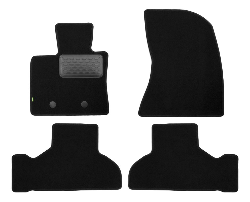 Комплект ковриков в салон автомобиля Autofamily для BMW (KVR02053701210kh)