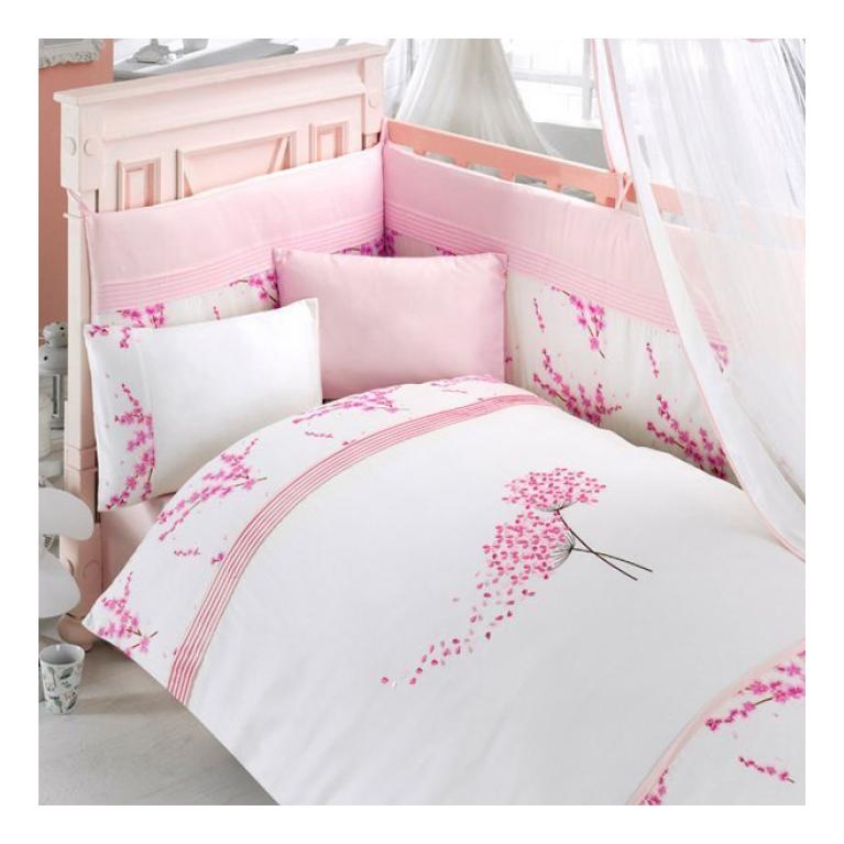 Комплект детского постельного белья Bebe Luvicci Blossom 3 предмета