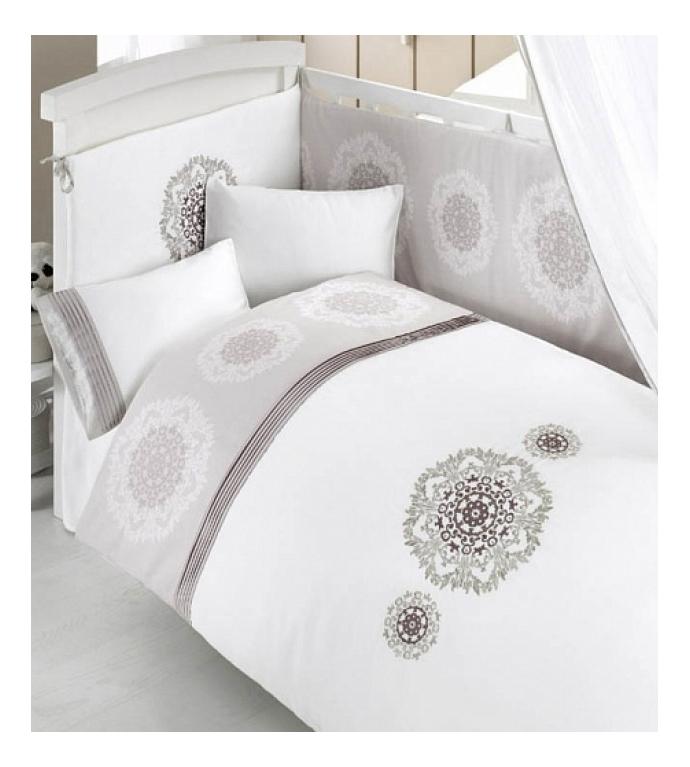 Комплект детского постельного белья Bebe Luvicci Royal 6 предмета