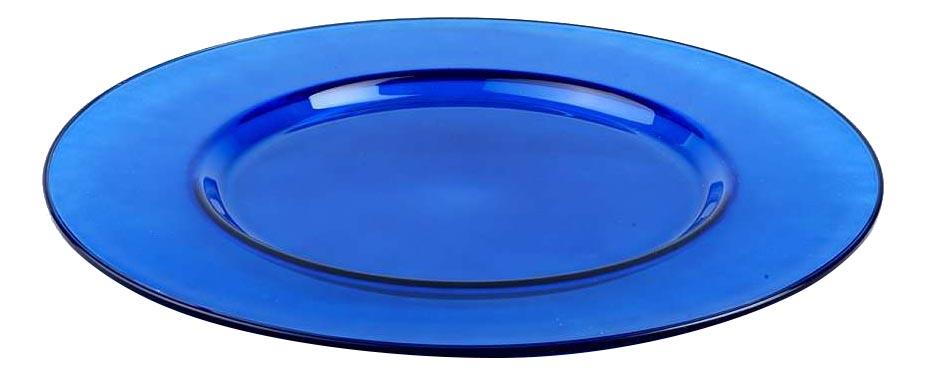 Блюдо Pasabahce Arte workshop blue 35 см