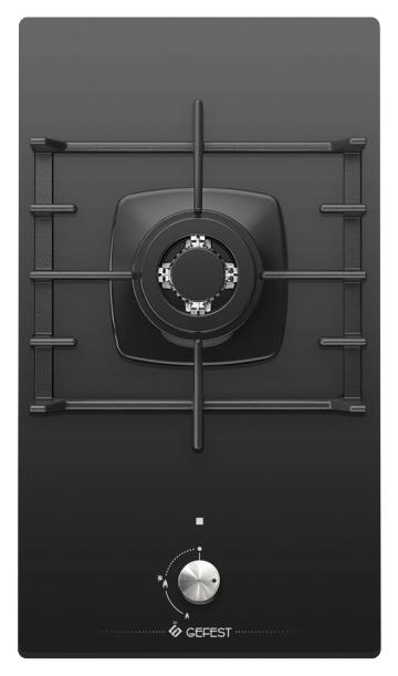 Встраиваемая варочная панель газовая GEFEST ПВГ 2001 Black