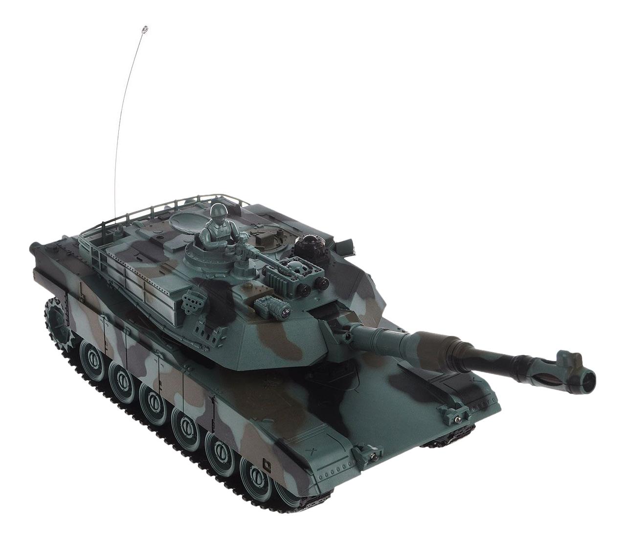 Купить Танк Abrams M1A2, Радиоуправляемая военная техника Пламенный Мотор 87556, Пламенный мотор, Радиоуправляемые танки