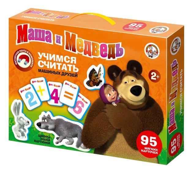 Развивающая игрушка Десятое Королевство Учимся считать маша и медведь