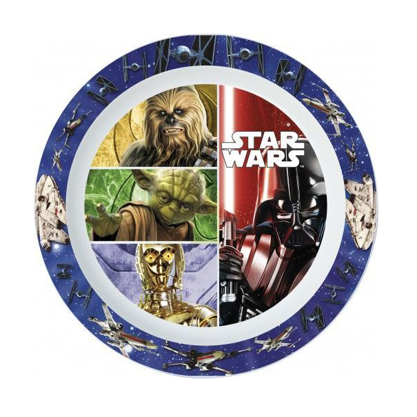 Тарелка пластиковая (для СВЧ) Stor Звездные войны