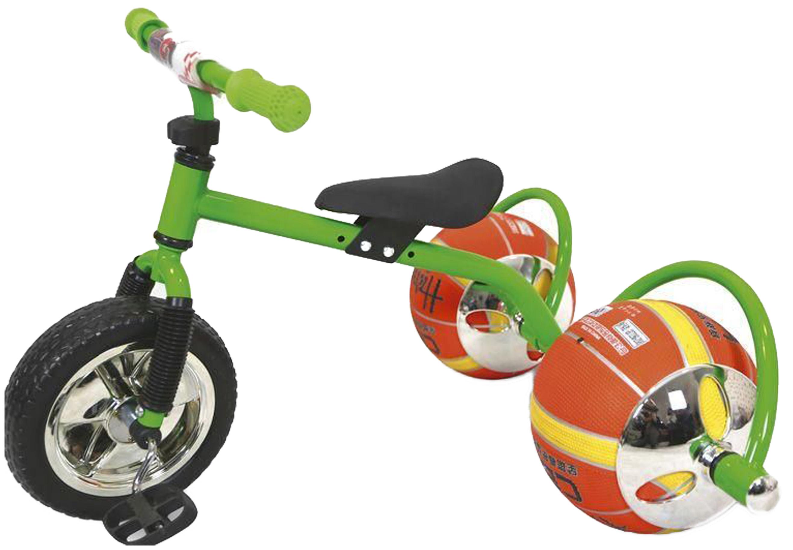 Купить Баскетбайк зеленый, Велосипед трехколесный Bradex Баскетбайк Зеленый, Детские трехколесные велосипеды