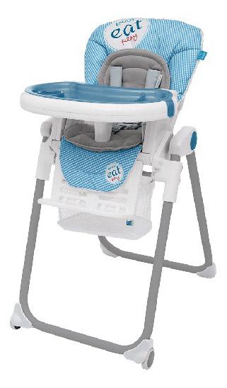 Стульчик для кормления Baby Design Lolly синий