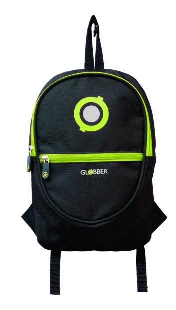 Рюкзак для самоката GLOBBER JUNIOR BLACK/LIME GREEN