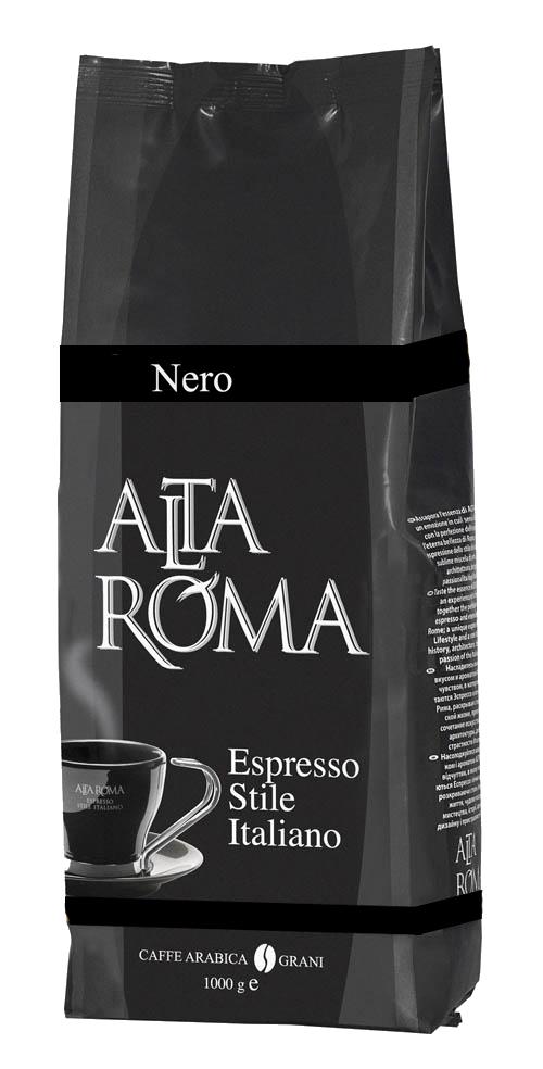 Кофе в зернах Alta Roma nero 1000 г