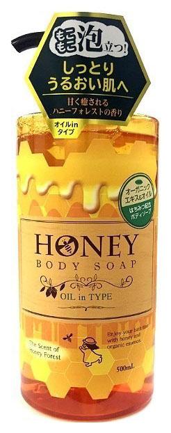 Гель для душа Funs Honey Oil 500 мл фото
