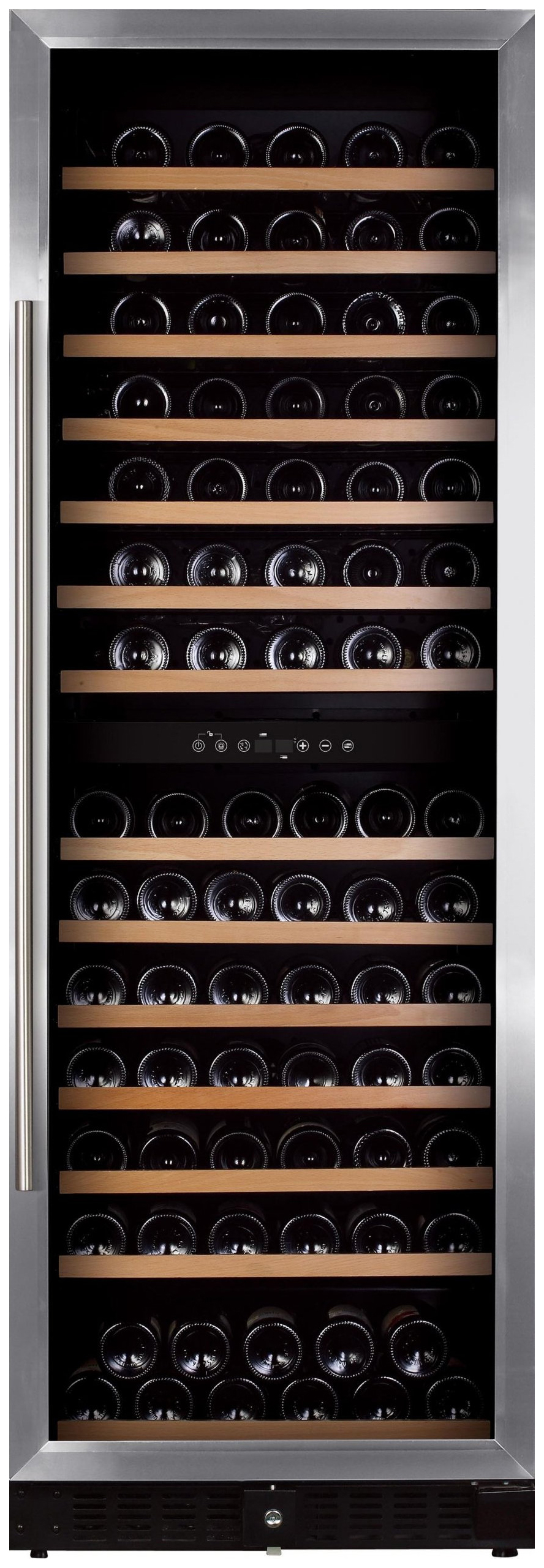 Встраиваемый винный шкаф Dunavox DX 166.428SDSK