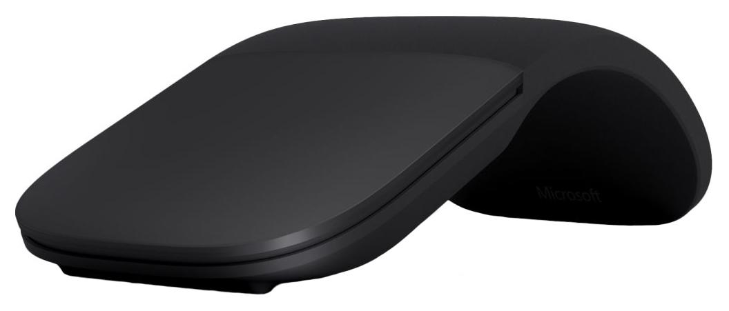 Мышь Microsoft Arc Mouse ELG-00013 Черная  - купить со скидкой