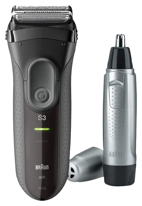 Электробритва Braun Series 3 3000VS Черный фото