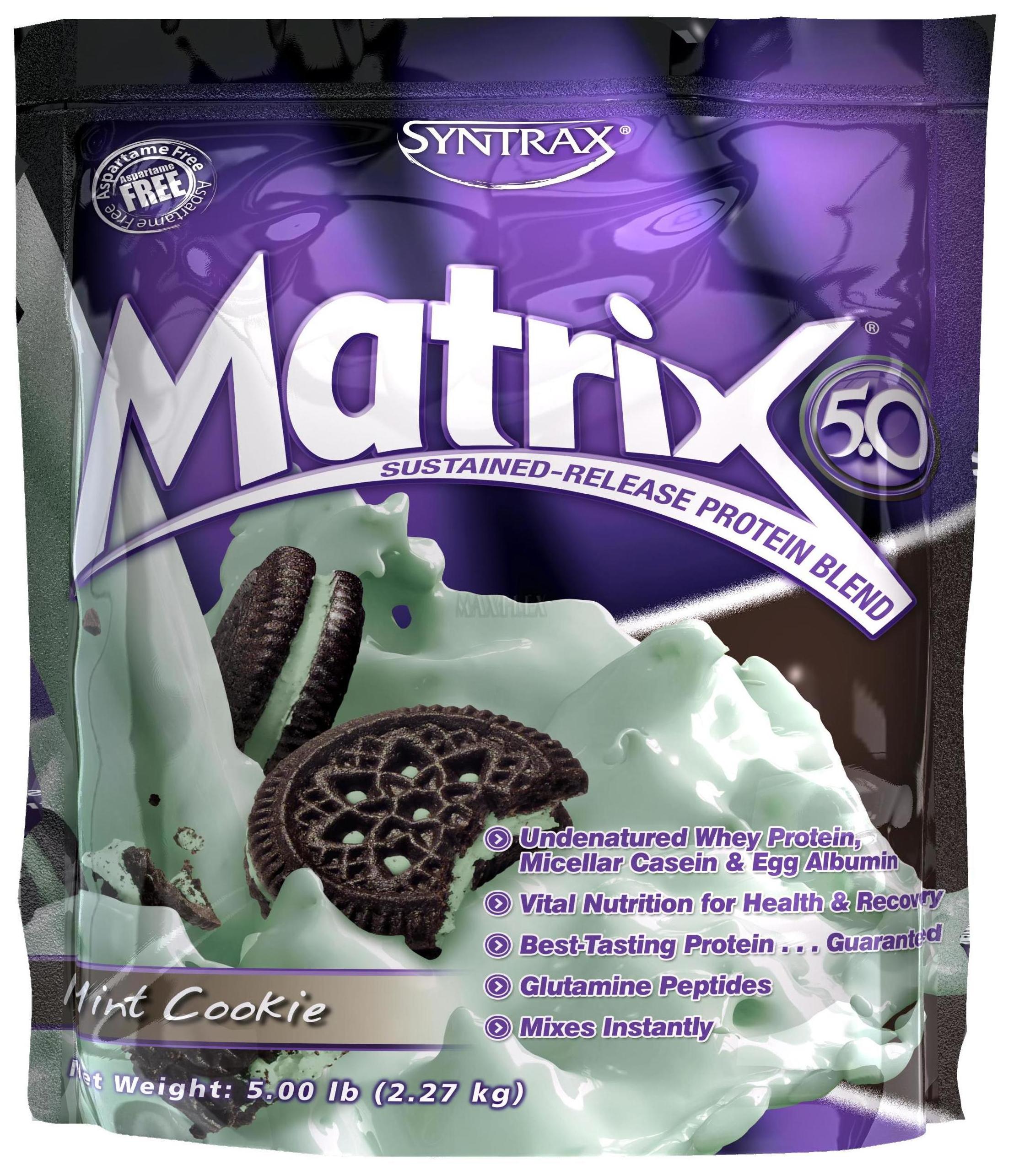Протеин Syntrax Matrix 5.0 2270 г мятное