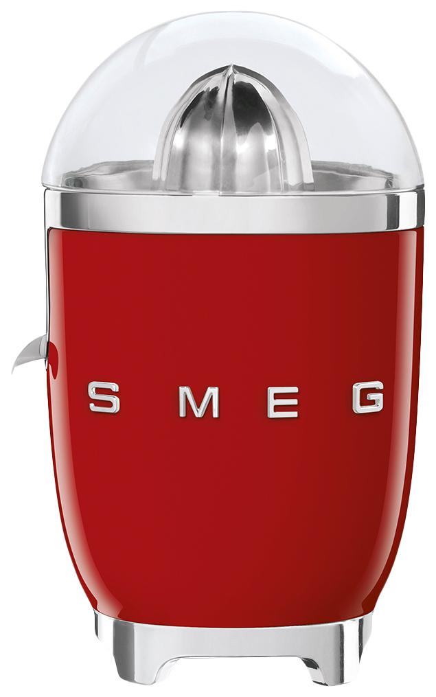 Соковыжималка для цитрусовых Smeg CJF01RDEU red/silver