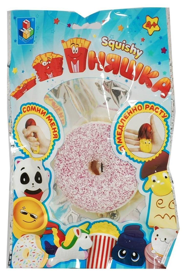 Игрушка-антистресс 1Toy мммняшка squishy мини-пончик