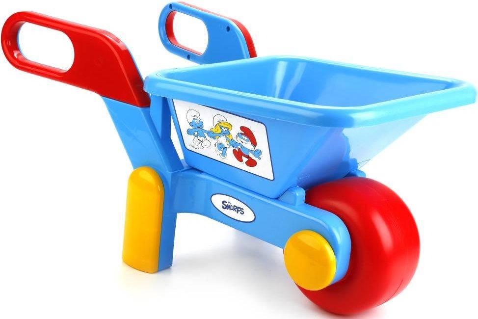Купить Спецтехника СМУРФИКИ, Спецтехника полесье смурфики голубой 64448, Полесье, Детские тележки для супермаркета