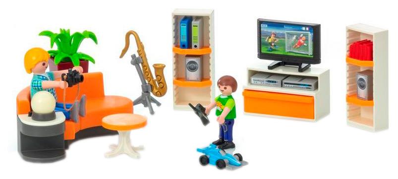 Купить Жилая комната, Игровой набор Playmobil Городская жизнь Жилая комната 9267, Игровые наборы