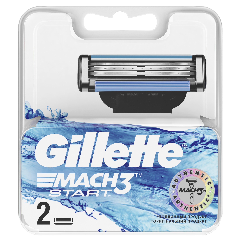 Сменные кассеты Gillette Mach3 Start 2 шт