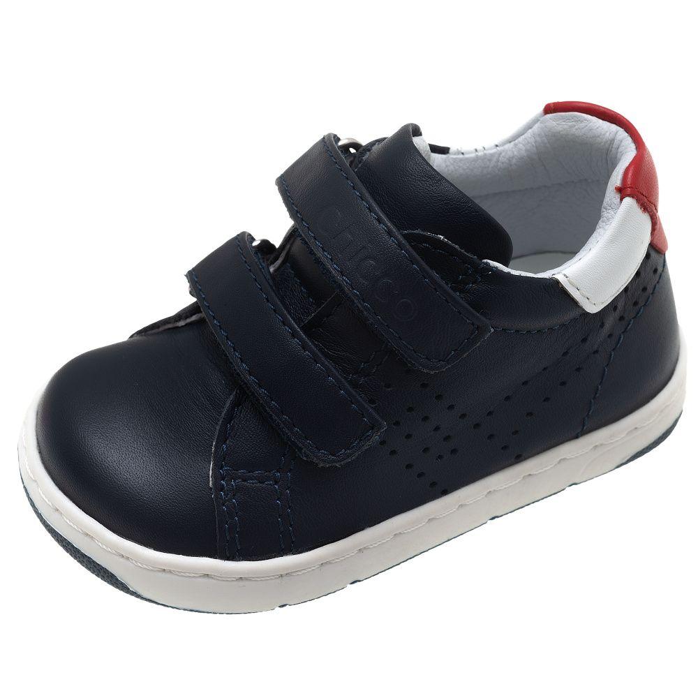Купить 01061536, Ботинки детские Chicco р.23 цвет синий, Детские ботинки