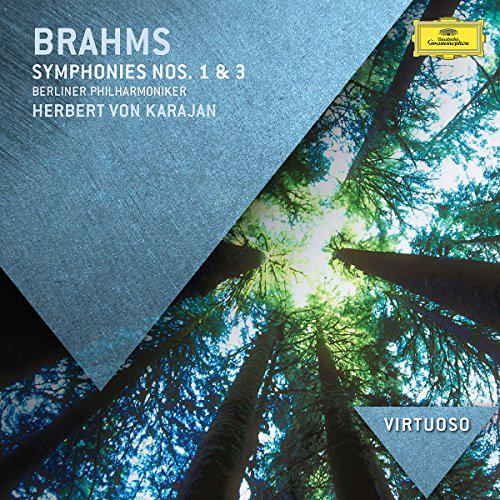 Аудио диск Karajan, Herbert Von Brahms: Symphonies Nos.1 #and# 3