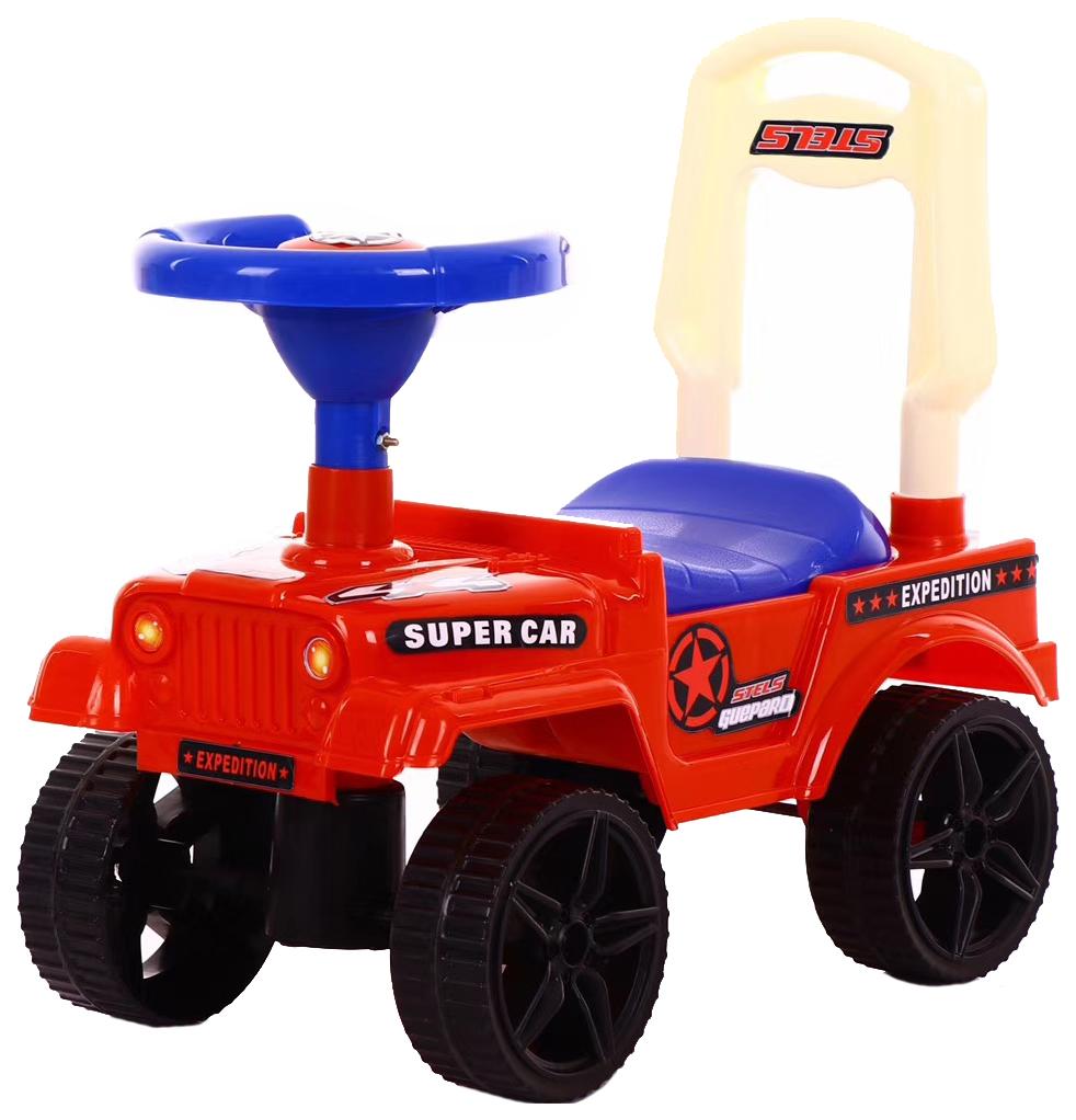 Купить Каталка детская Наша Игрушка Экспедитор Красная, Наша игрушка, Машинки каталки
