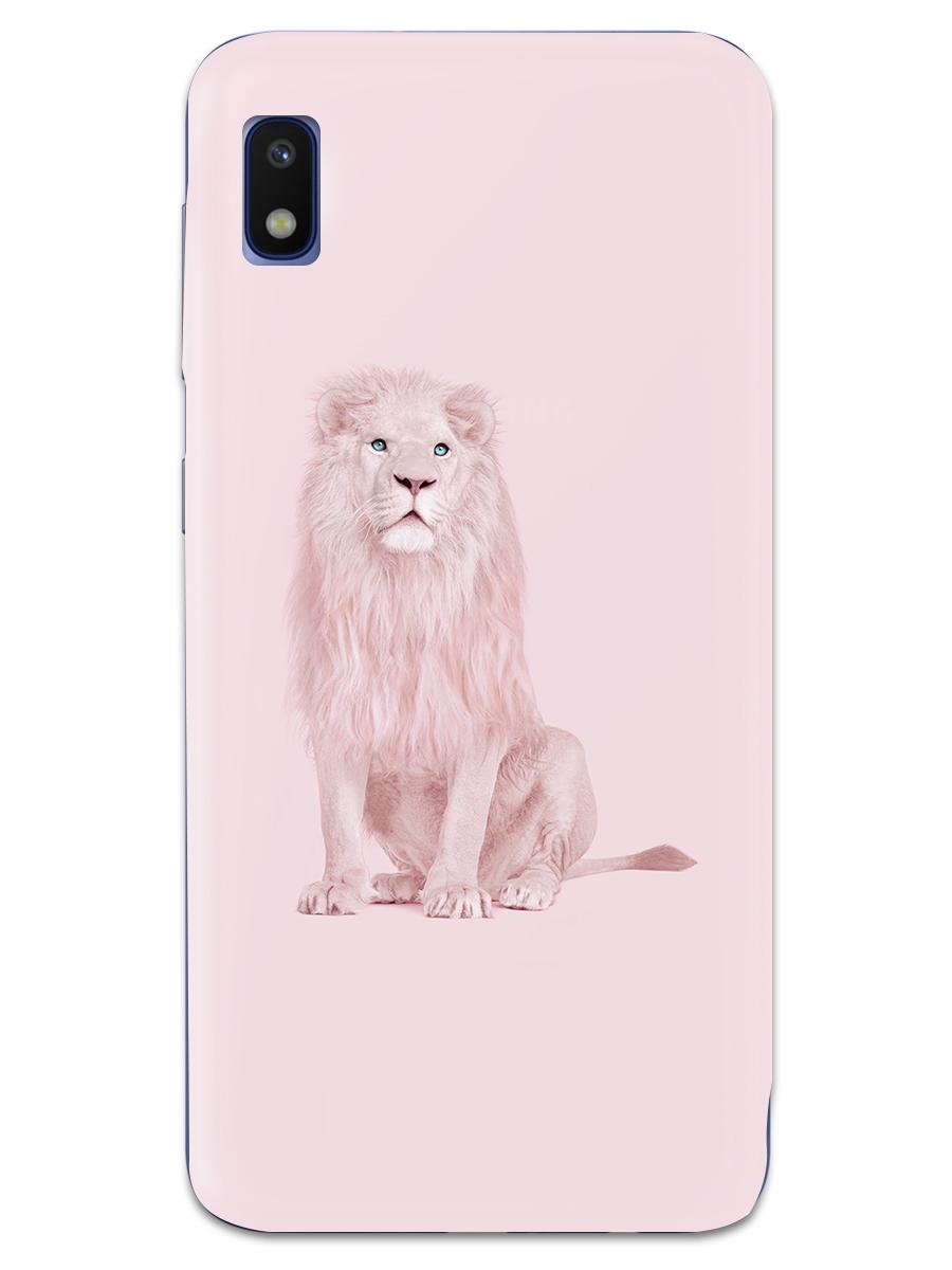 Чехол СМАКС Albino Lion для Samsung Galaxy A10