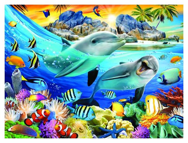 Купить Стерео пазл PRIME 3D 10047 Закат на острове, 3D пазлы