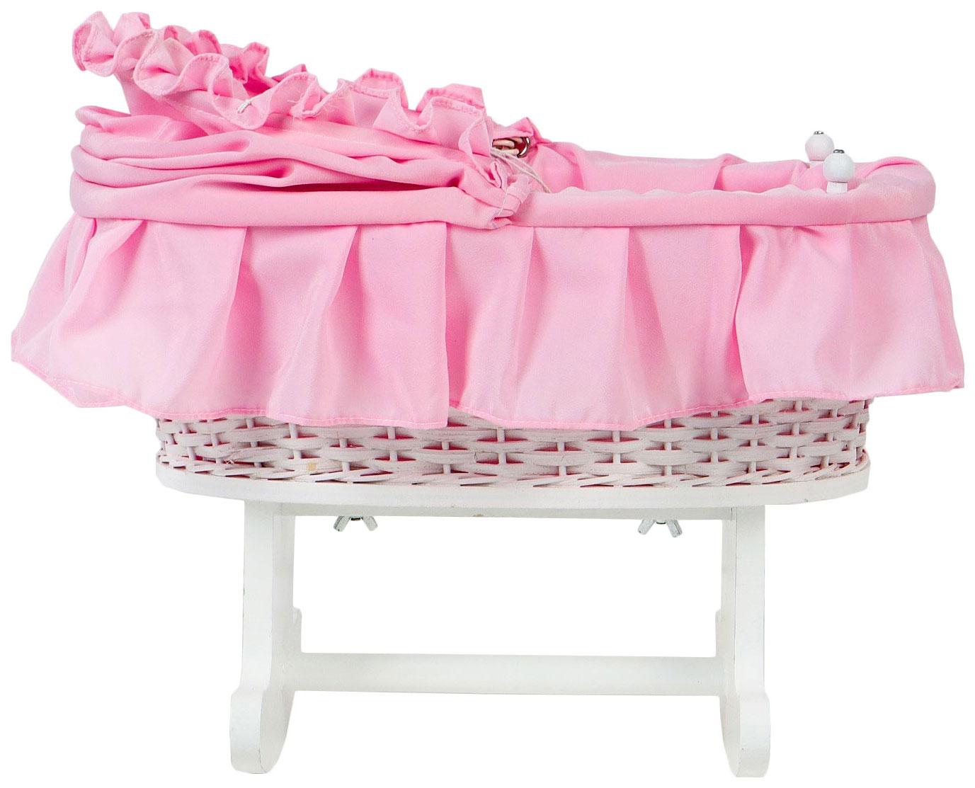 Купить Кровать - качалка для кукол Премиум 36×24×44 см Sima-Land, Мебель для кукол