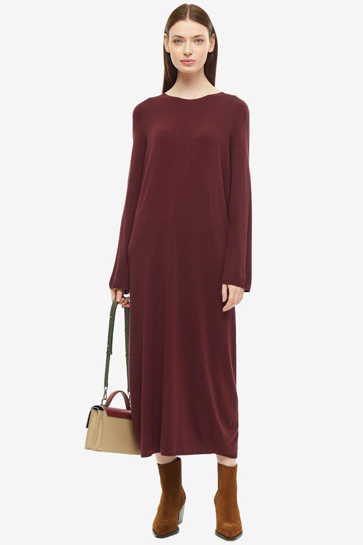 Платье женское SHADE BSHFW195707A бордовое M; L