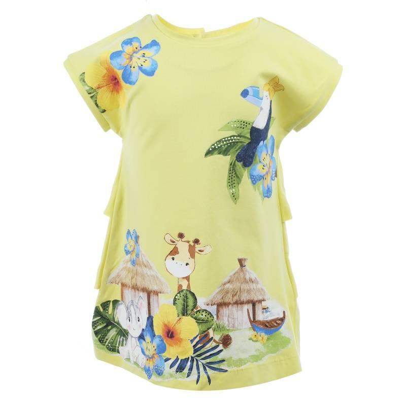 Купить Платье MAYORAL, цв. желтый, 92 р-р, Детские платья и сарафаны
