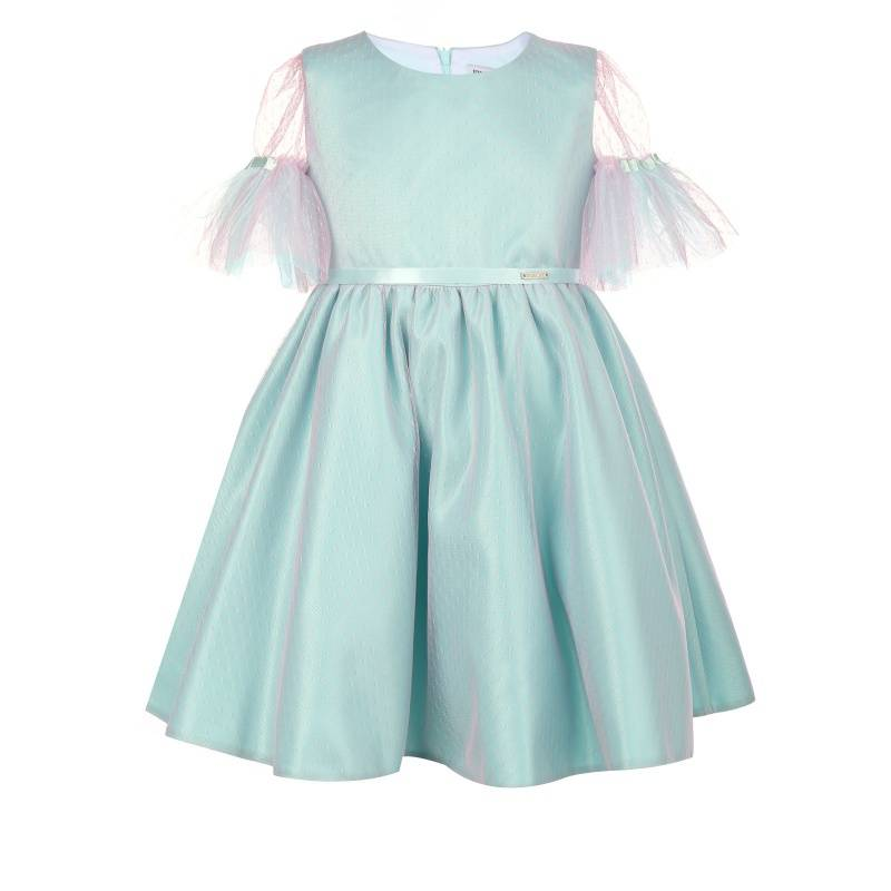 Купить Платье Феникс UNONA D'ART, цв. бирюзовый, 122 р-р, Детские платья и сарафаны