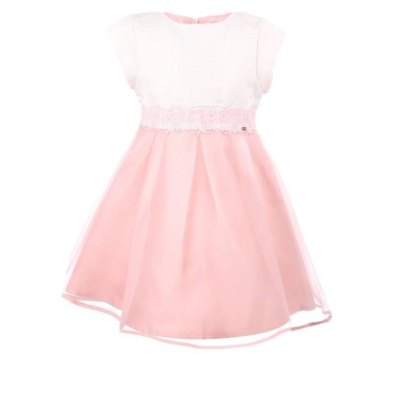 Купить 3.911/92, Платье MAYORAL, цв. розовый, 128 р-р, Детские платья и сарафаны