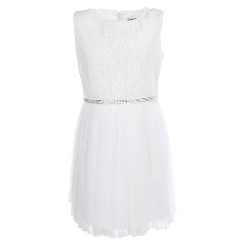 Купить Платье MAYORAL, цв. белый, 152 р-р, Детские платья и сарафаны