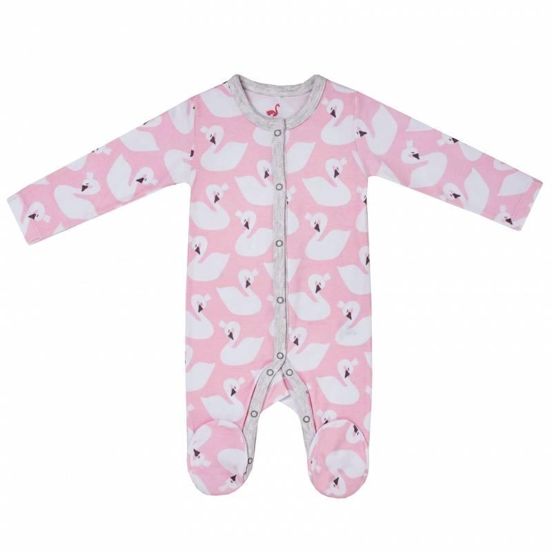 Купить DK-067, Комбинезон Diva Kids, цв. розовый, 68 р-р, Трикотажные комбинезоны для новорожденных