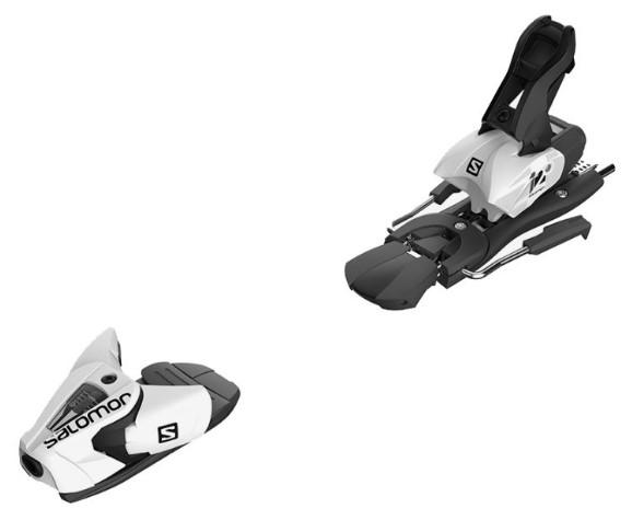 Горнолыжные крепления Salomon N Z12 2020, черные/белые,