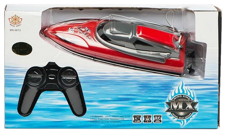 Купить Катер р/у, 4 канала, эл.пит.AA*5шт.не вх. в комплект, Наша игрушка, Радиоуправляемые катера