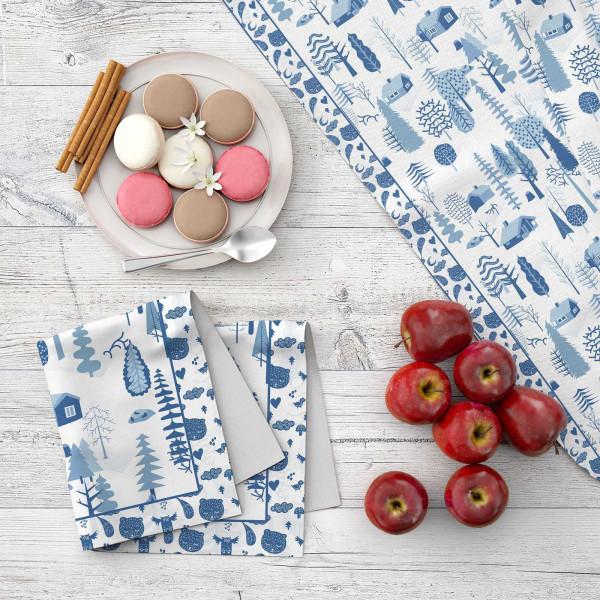 Набор кухонного текстиля MARENGO TEXTILE «Зимняя сказка»