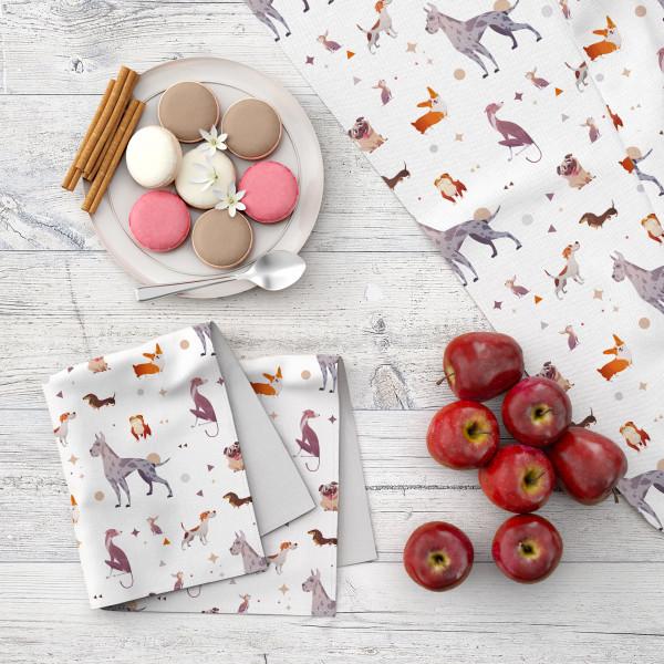 Набор кухонного текстиля MARENGO TEXTILE «Собачки»