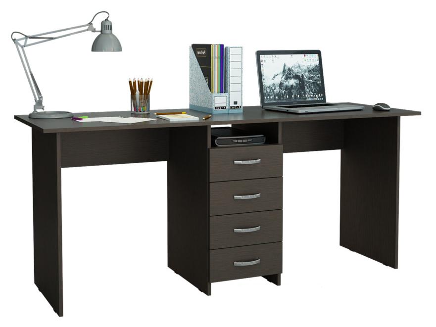 Компьютерный стол МФ Мастер Тандем-2 174,8x60x75, венге